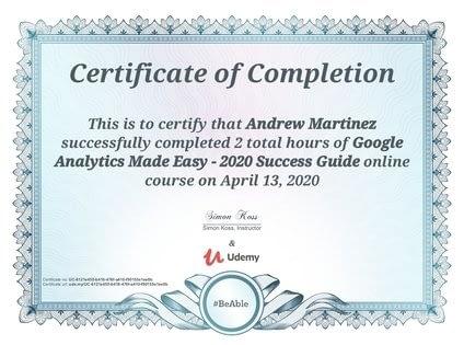 Lone Star ChiroWebsites Google Analytics Certified